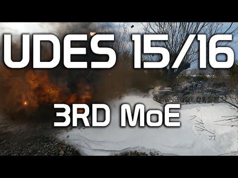 UDES 15/16 DONE! 3rd MoE!