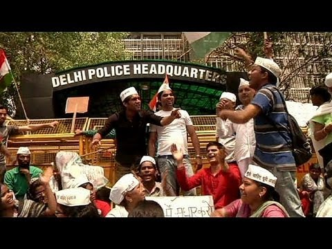 Protests against child rape in India - no comment