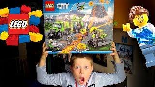 LEGO CITY 60124 BAZA BADACZY WULKANÓW !