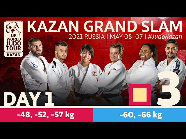 Day 1 - Tatami 3: Kazan Grand Slam 2021