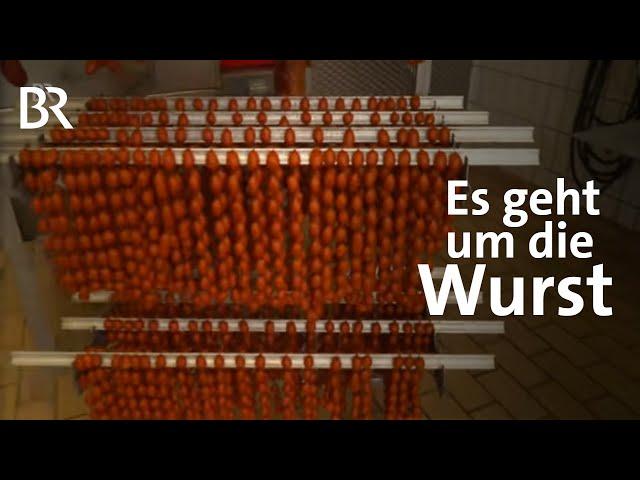 Niederbayern im Wurst-Wettstreit: Presssack und Roßwurst | Spessart und Karwendel | Doku | BR
