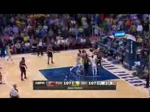 Portland Trail Blazers vs Indiana Pacers | February 7, 2014 | NBA 2013-14 Season