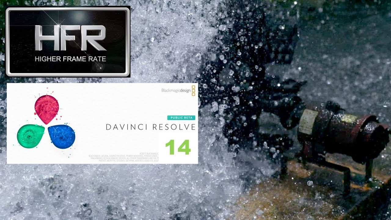Water Mill in VFR(Variable frame rate) [DaVinci Resolve 14] - YouTube