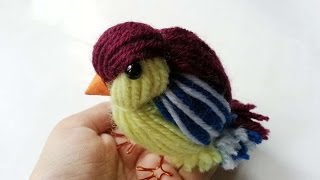 How To Create A Cute Yarn Bird - DIY Crafts Tutorial - Guidecentral
