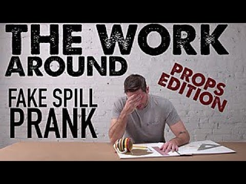 Prank Your Friends With a Fake Spill Prop - The Work Around - HGTV