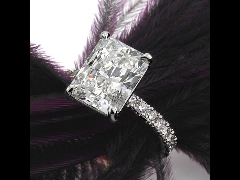Mark Broumand - 4.89ct Radiant Cut Diamond Engagement Ring
