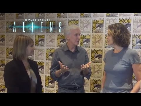 Aliens 30th Anniversary  James Cameron, Sigourney Weaver, and Gale Anne Hurd