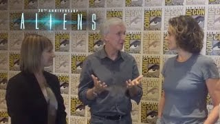 Aliens 30th Anniversary | James Cameron, Sigourney Weaver, and Gale Anne Hurd Interview