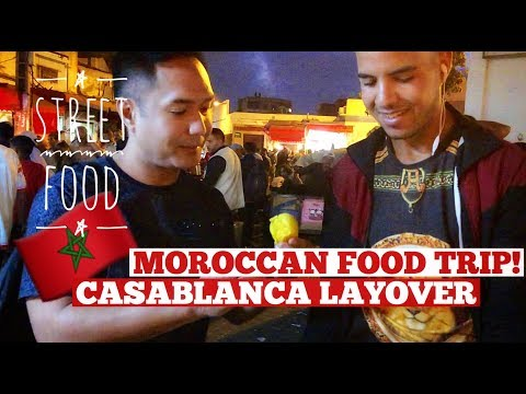 MOROCCAN FOOD TRIP | STREET FOOD | NIGHT MARKET | Vlog # 49