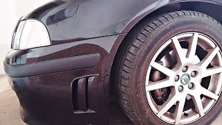 Skoda Octavia GT (193hp) Front Bumper Side Vents Installation
