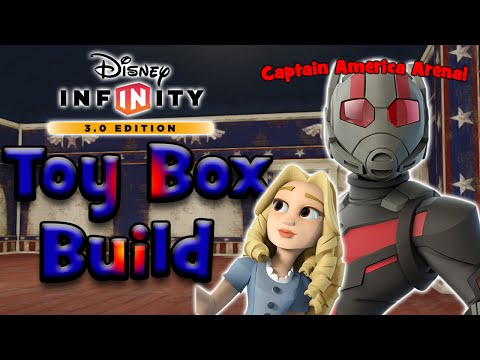 Captain America's Room Arena! | Disney Infinity 3.0 - Co-Op Toy Box Build [55]