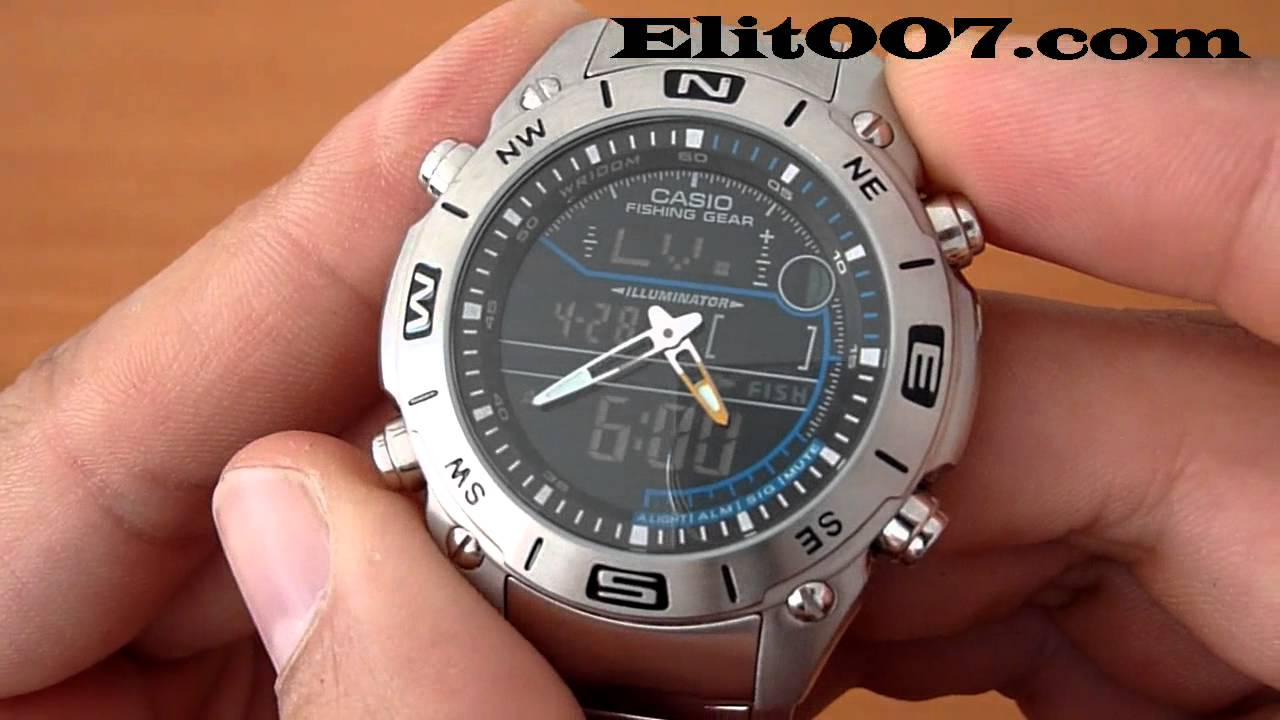 1f9f6cde3473 Casio Outgear AMW 703D 1AV - YouTube