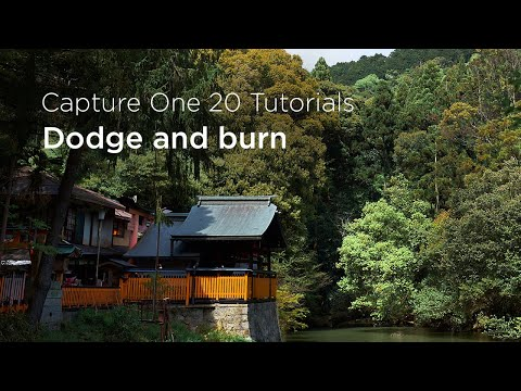 Capture One 20 Tutorials | Dodge and burn thumbnail