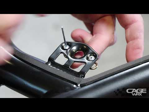 How to Install a Dzus Fastener - CageWRX Roll Cage