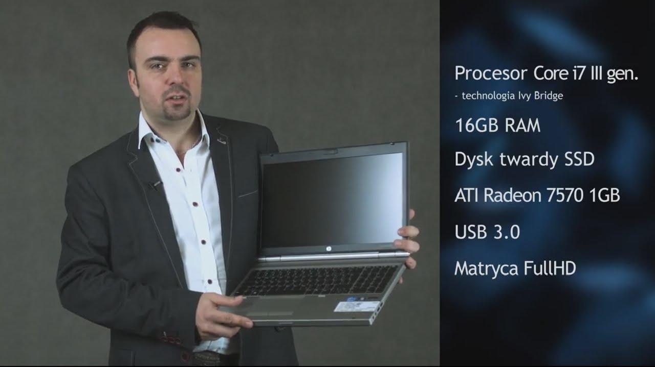 Laptopy poleasingowe HP Elitebook 8570p