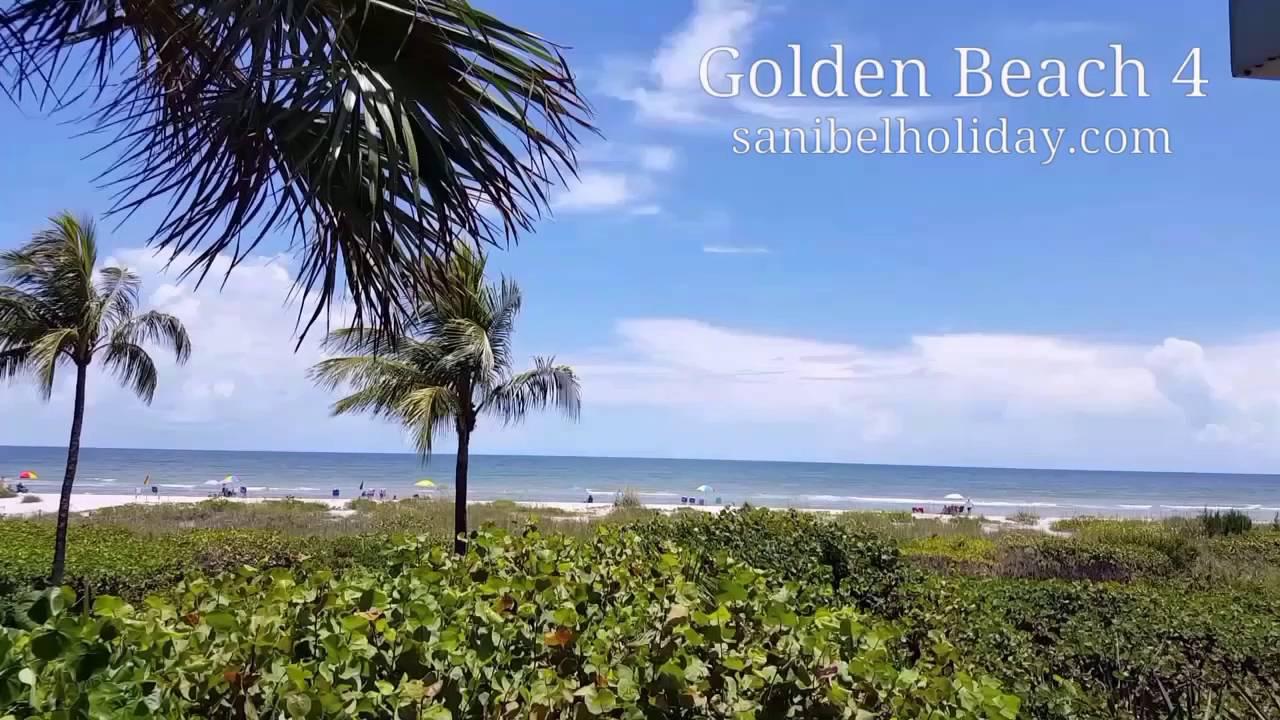 Golden Beach 4 Sanibel Island Pet Friendly Gulf Front Condo 3 Bedrooms 2 5 Bathroom Townhouse