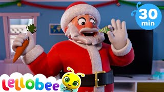 Santa's Rendeeirs - Christmas Songs for Kids | Nursery Rhymes | ABCs and 123s | Little Baby Bum