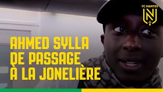 Ahmed Sylla de passage à la Jonelière