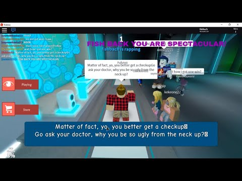 Roblox Rap.com Copy And Paste Troll On Auto Rap Battles Roblox Youtube