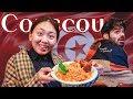 Korean Tries Tunisian Couscous(الكسكسي التونسي)