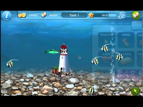 Tap fish android game youtube for Tap tap fish game