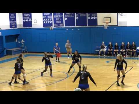 Interlachen High School vs Palatka High School Volleyball 9-6-2016