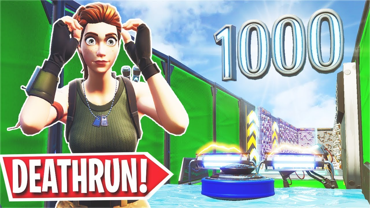The *Impossible* 1,000 Level Default Deathrun... (Fortnite ...
