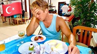 ТЯЖЕЛЫЙ ОТДЫХ НА ВСЕ ВКЛЮЧЕНО В ТУРЦИИ Шведский стол в отеле Pirate s Beach Club ОЧЕНЬ МНОГО ЕДЫ