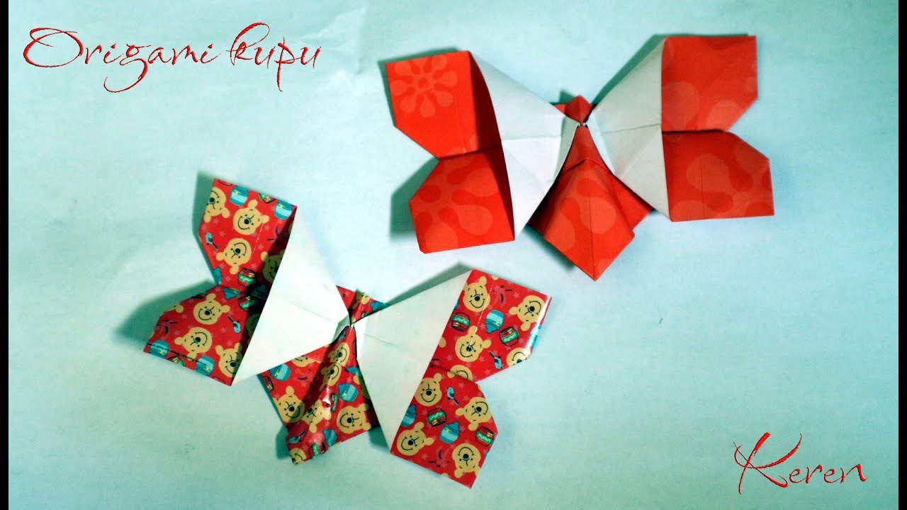 Tutorial origami kupu kupu cantik mudah dan simple youtube tutorial origami kupu kupu cantik mudah dan simple jeuxipadfo Choice Image