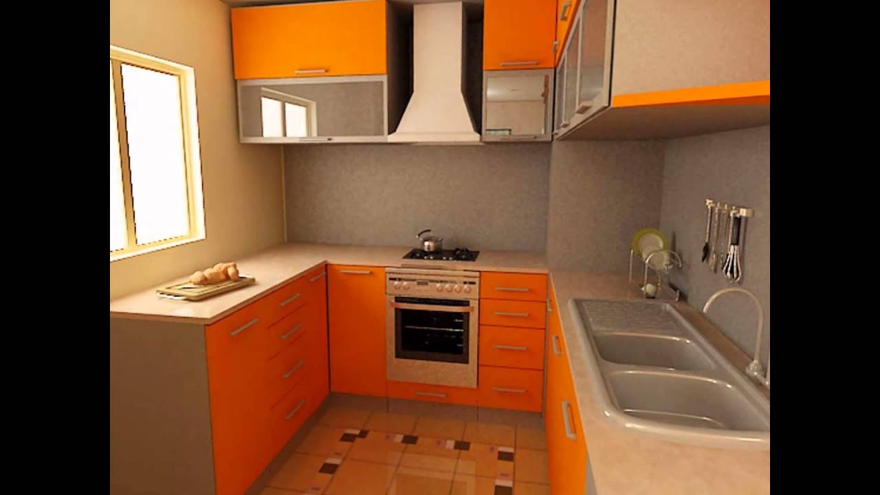 Best Models For Small Kitchen Design - YouTube