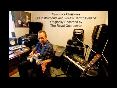 Kevin Borland - Snoopy's Christmas (Royal Guardsmen cover) - YouTube