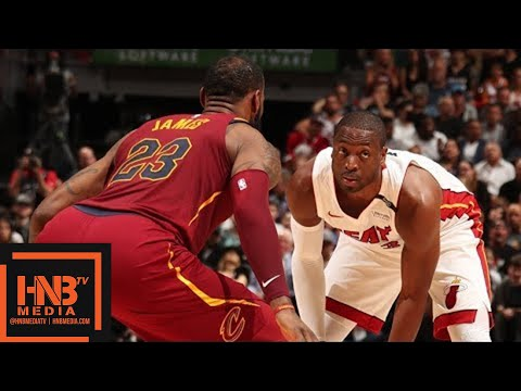 Cleveland Cavaliers vs Miami Heat Full Game Highlights / March 27 / 2017-18 NBA Season