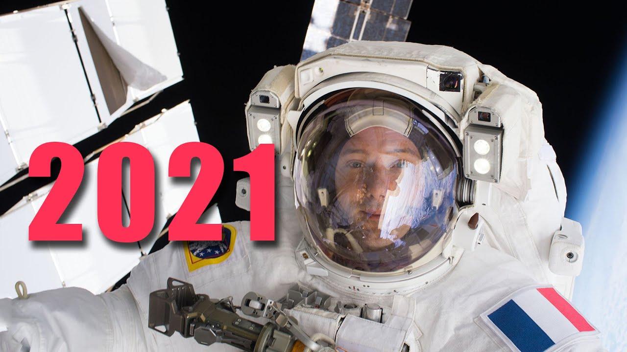Thomas Pesquet retourne dans l'ISS en Crew dragon !   EC