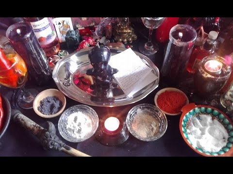 How to set up an Altar for Protection