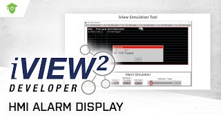 IMO iView HMI Alarm Display