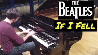 "The Beatles - ""If I Fell"" / Piano cover by Lucky Piano Bar (Eugene Alexeev)"