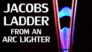 Making a Jacob's Ladder from an Arc Lighter & Can a Bismuth Levitator create a Frictionless Motor?