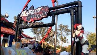 Harley Quinn Crazy Coaster, Six Flags Discovery Kingdom - GO's Coaster Clips