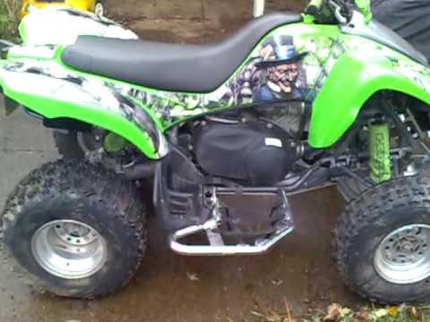 My Kfx 700 My Version