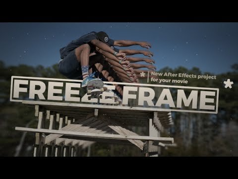 3D Freeze Frame 2017 | Free After Effects Template From Videohive | By makcinema