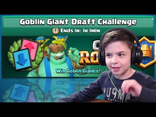 GOBLIN GIANT DRAFT CHALLENGE - SPECIAL EVENT - Clash Royale