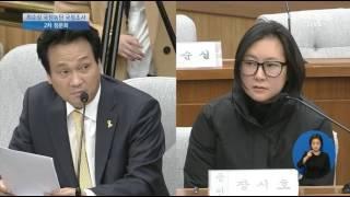"""안민석 의원-국정조사 질의 """"장시호 증인, 제가 미우시죠?"""", 장시호 """"네."""" 폭소 유발"""