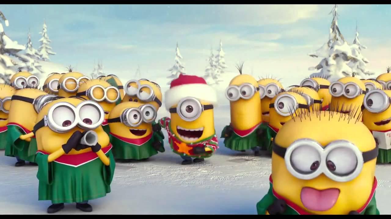 小小兵唱圣诞歌(HD) - YouTube