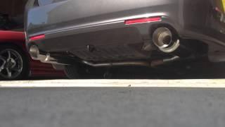 Gambar cover Acura TSX CU2 ct-e icebox megan m-GT mufflers