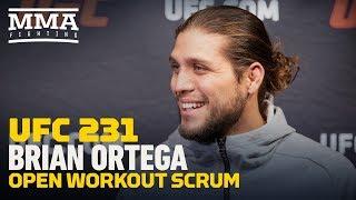 Brian Ortega vs Max Holloway
