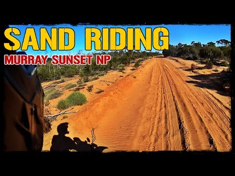 Sand Riding at Murray Sunset NP