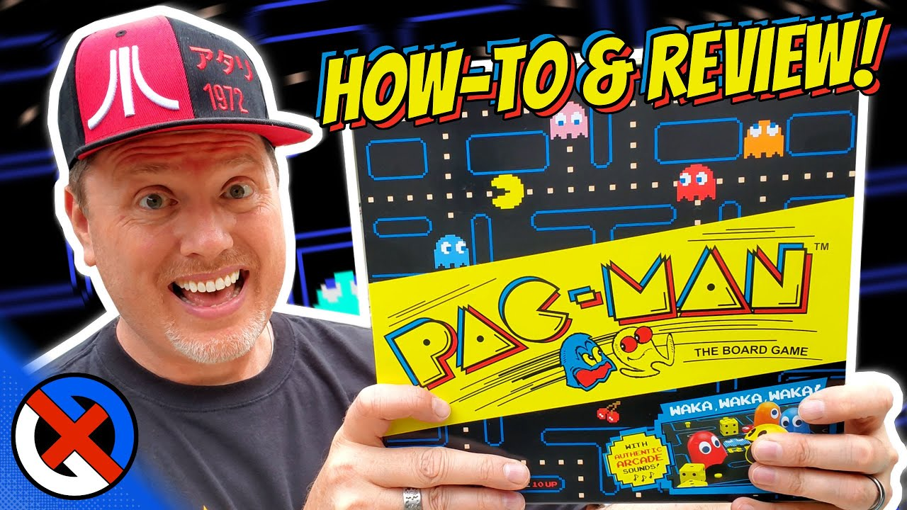 Pac-Man 2019 Board Game Review | GenX Classic from Buffalo Games & Target