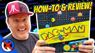PacMan 2019 Board Game Review | GenX Classic from Buffalo Games & Target Pac-Man