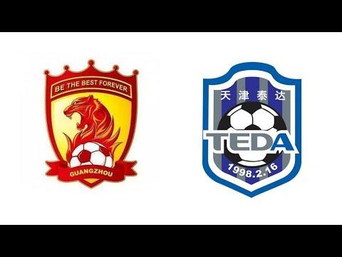 Round 20 - Guangzhou Evergrande Taobao FC vs Tianjin Teda