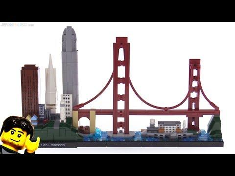 LEGO Architecture San Francisco skyline set review 🌉 21043